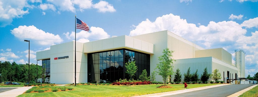 SSI SCHAEFER Manufacturing facility in Charlotte, NC