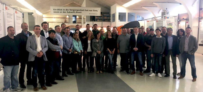 SCHAEFER Sponsors NWRA FILA Group to Exchange Ideas with BDE-Junior Association