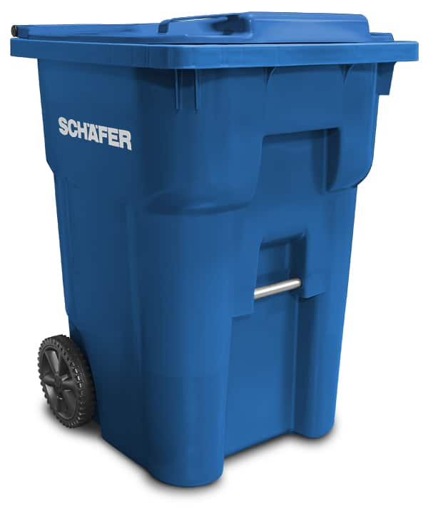 Q SERIES WASTE AND RECYCLING CARTS