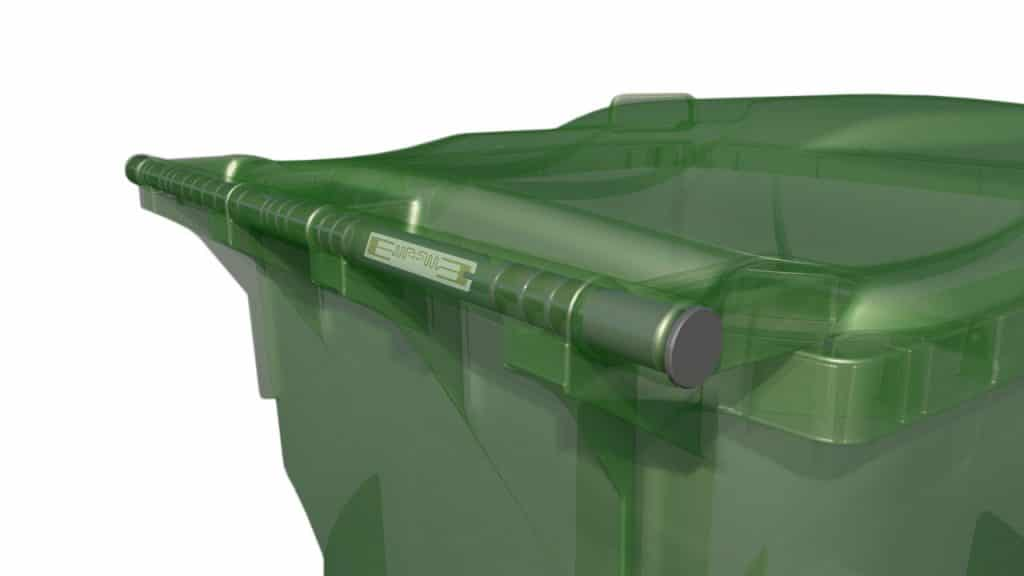 Schaefer waste carts come equipped with RFID ready technology