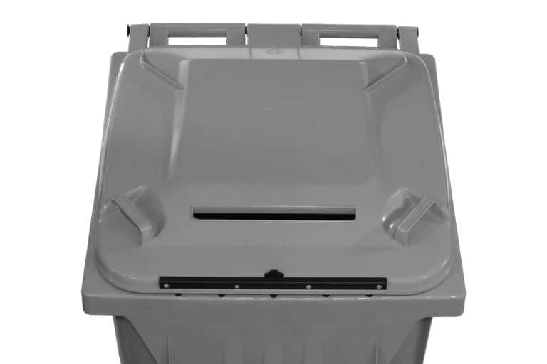 Secure Document Cart with Lock in Grey by SCHAEFER