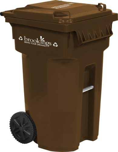 Recycling cart for City of Brookings