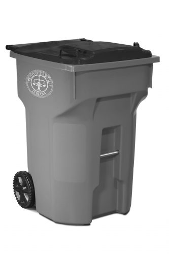 Waste cart for City of Evansville, IN