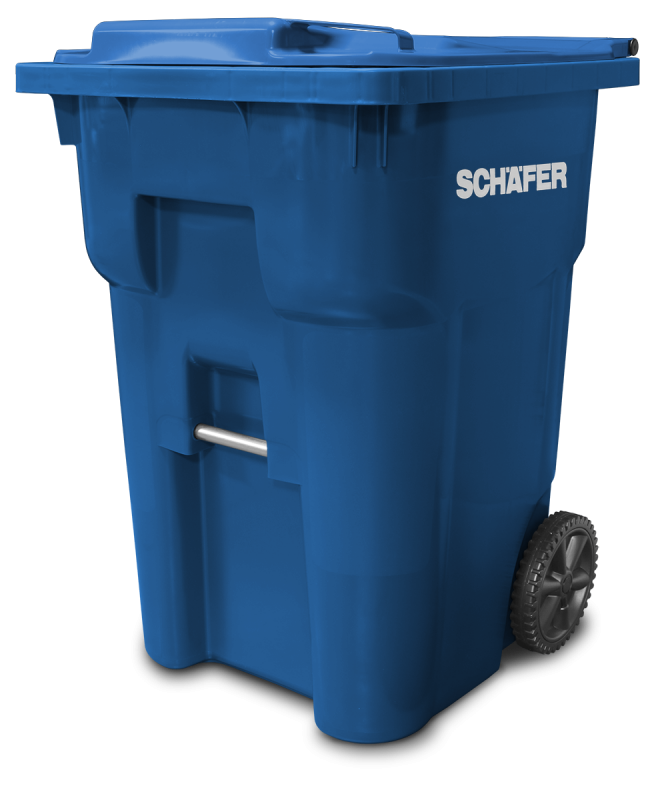 Q SERIES WASTE AND RECYCLING CART