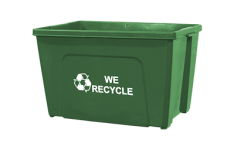 18-Gallon Curbside Recycling Bins