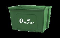 18-Gallon Curbside Recycling Bins