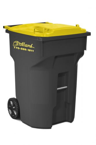 Custom waste cart for Pollard
